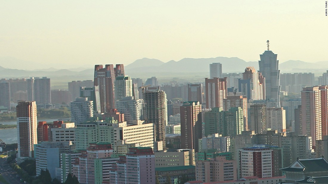 <strong>City tour: </strong>Pyongyang is home to more than 2 million people. Many travelers find it surprisingly modern -- though foreigners are limited to government-approved sites.