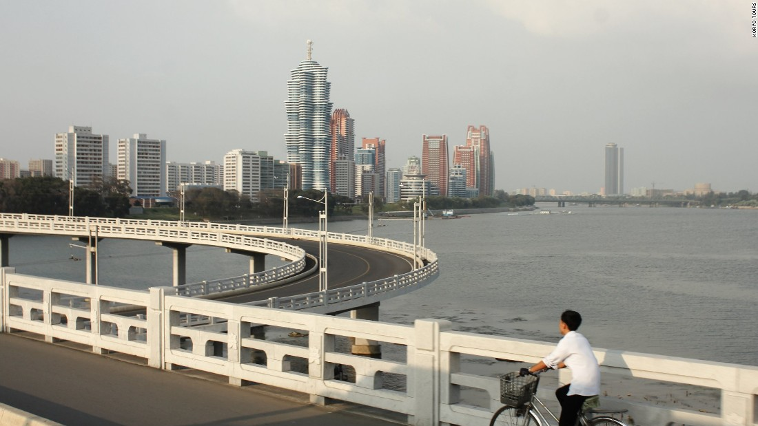 <strong>The cycle: </strong>Travelers visiting North Korea must follow local laws and guidelines. They may not wander off on their own -- it's advised that they stick with their tour guides at all times.