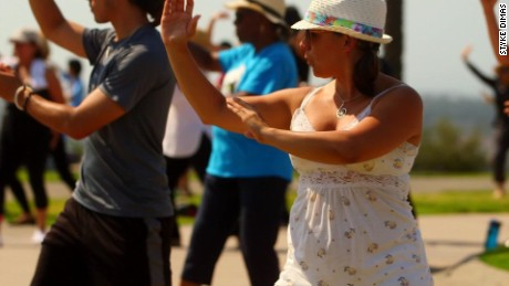 Tai chi isn't just for old folks