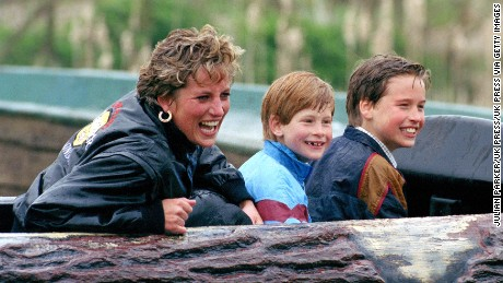 Diana's hands-on mothering broke royal tradition