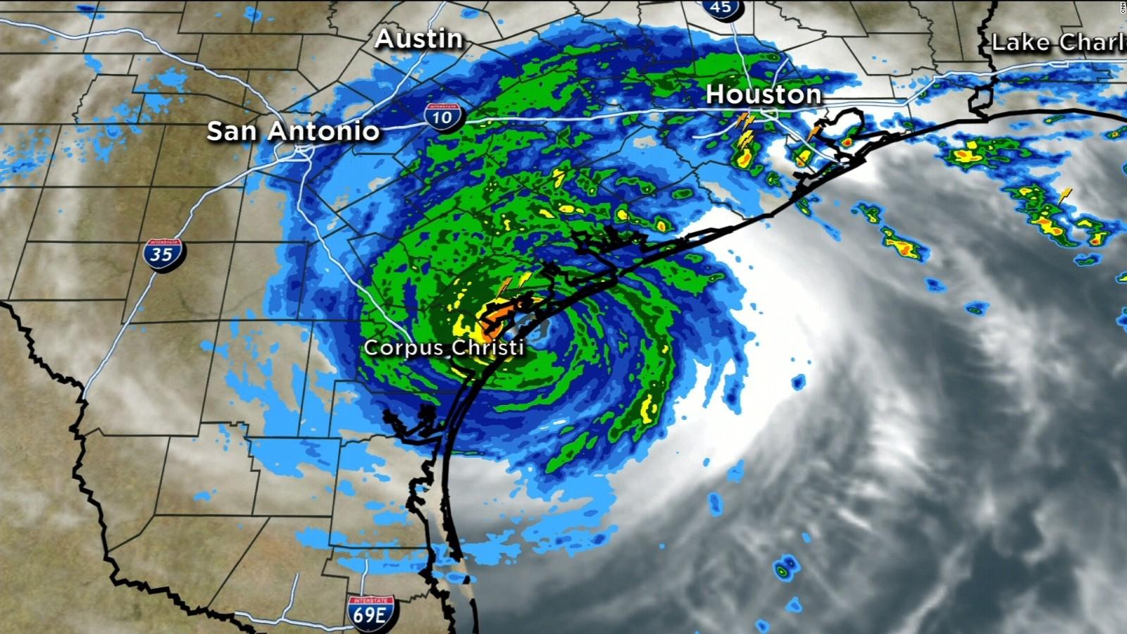 Hurricane Harvey makes landfall CNN