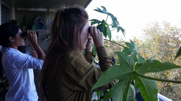 Coleen Jose and Kim Wall on a reporting trip in Hawaii.