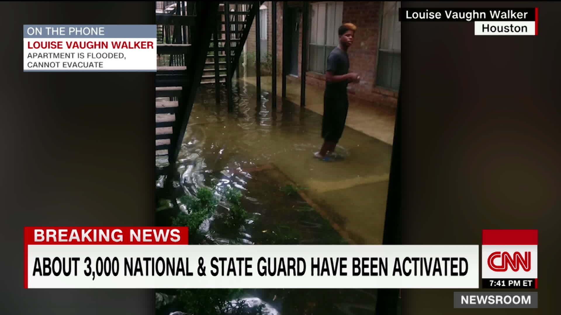 Flood traps Houston apartment residents - CNN Video