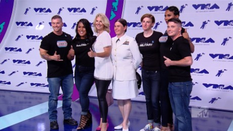 Transgender service members speak out at VMAs
