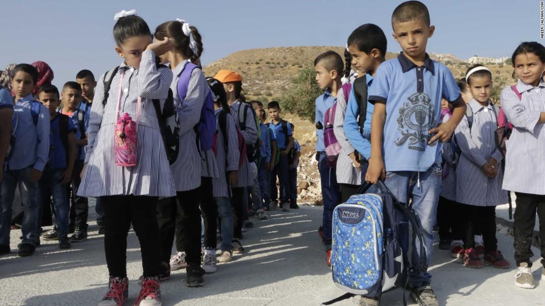 Israel demolishes Palestinian schools, citing lack of permits