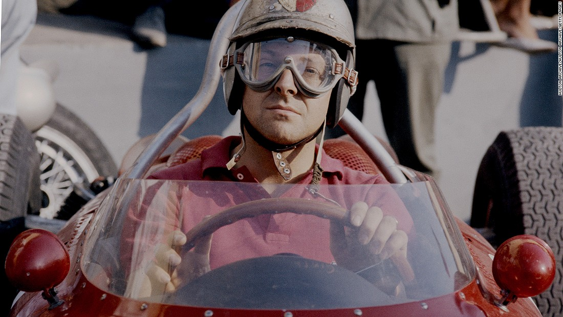 Von Trips of Germany, pictured here ahead of the 1961 Italian Grand Prix, raced 27 times, winning two grands prix before tragedy struck at Monza.