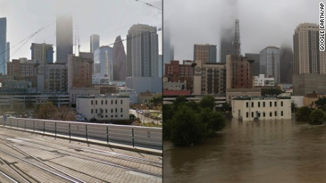 This is Houston. Then and now.