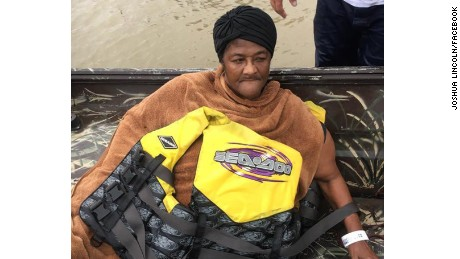 Cajun Navy finds unconscious woman in water