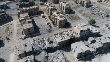 US-backed forces: Major combat operations over