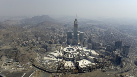 19. Mecca: Almost eight million tourists headed to the Saudi Arabian holy city in 2016 and this number will increase to 8.7 million in 2017, according to Euromonitor