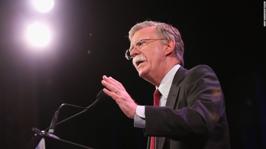 John Bolton has decade-long association with anti-Islam activist Pamela Geller