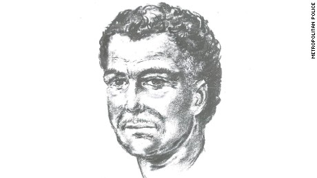 An artist's impression of the man who shot Mr Al-Ali.