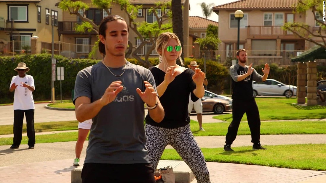Tai chi fights stress, getting popular with Millennials