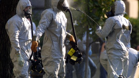 How prepared is the US for an anthrax attack?