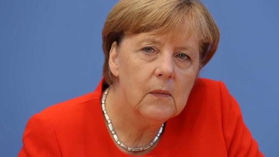 German Chancellor Angela Merkel has demanded the release of German citizens in Turkish prisons.