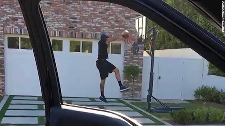 The Drive-by Dunk Challenge