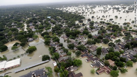 'Whole city' now underwater as Harvey makes another landfall