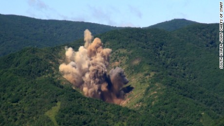 South Korea's explosive response to North Korea missile