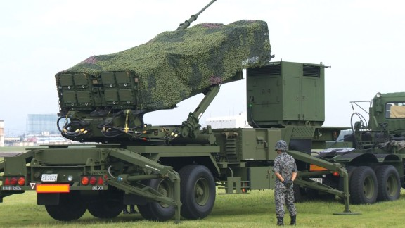 The Patriot missile system or Pac-3 in Japan