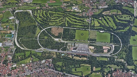 The Autodromo Nazionale Monza, north of Milan is once of F1's most famous race tracks