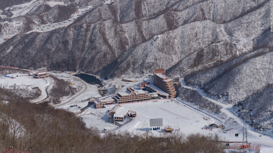 <strong>Masikryong: </strong>Work began on Masikryong Ski Resort, the only one in North Korea, after Pyeongchang in South Korea was awarded the 2018 winter Olympics.
