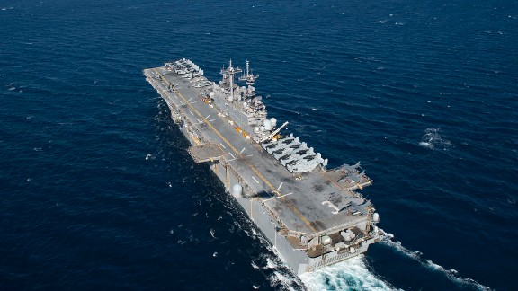 File photo of the USS Kearsarge