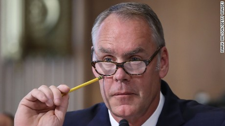 Ryan Zinke, Golden Knights meeting under investigation