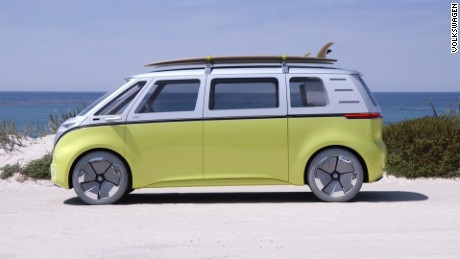 Volkswagen S Electric Concept Bus Is Far Out