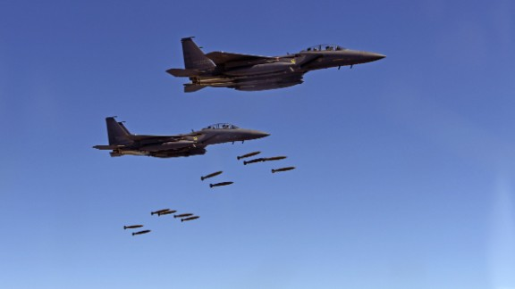 US and South Korean fighter jets take part in a mock surgical strike Thursday.