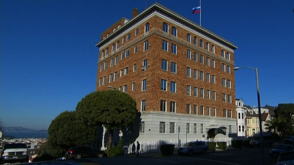 The closing of the Russian Consulate in San Francisco has been a part of the US-Russia diplomatic spat.