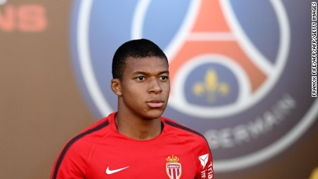 Mbappé scored 27 goals in 60 games for Monaco.