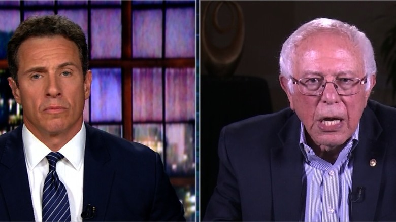 Bernie Sanders talks to Chris Cuomo (Full)