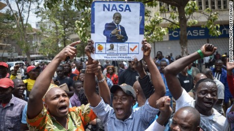 Kenya Supreme Court nullifies presidential election, orders new vote