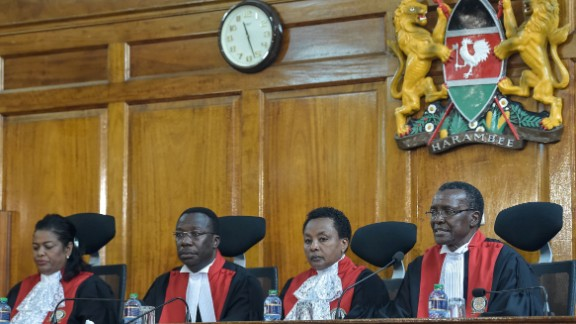 The Kenyan Supreme Court upholds a petition challenging the results of the August 8 vote.