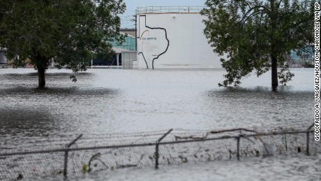 Wastewater, faecal bacteria in Hurricane Harvey Floodwaters