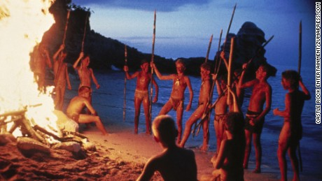 "William Golding's novel ""Lord of the Flies"" has been adapted into a film in 1963 and 1990."