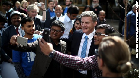 Incumbent Prime Minister Bill English is seeking a fourth-term for his National Party.