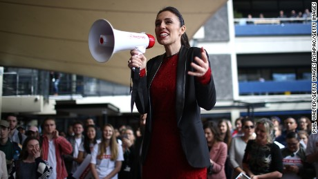 New Zealand Labour Party leader Jacinda Ardern has seen her party surge in the polls since she took over on August 1, 2017.