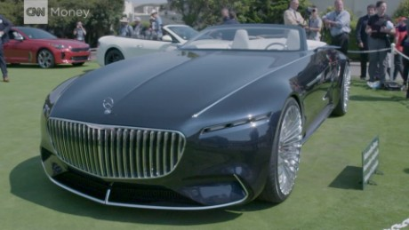The 20 Foot Long 2 Seat Mercedes Convertible