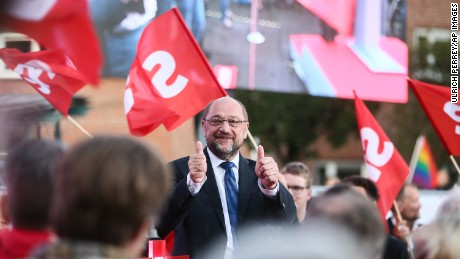 Chancellor candidate Martin Schulz has been holding rallies around the country.