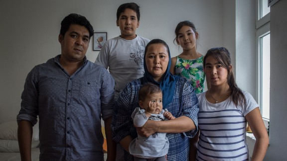 The Mohammadi family traveled from Maidan Wardak in Afghanistan to Germany mostly by foot.