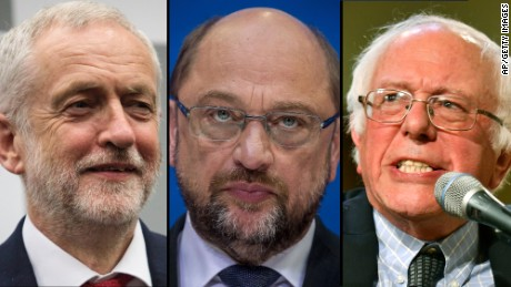 Can Martin Schulz succeed where Sanders and Corbyn failed?