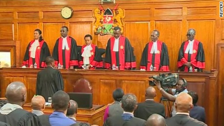 Kenya's Supreme Court rules in election