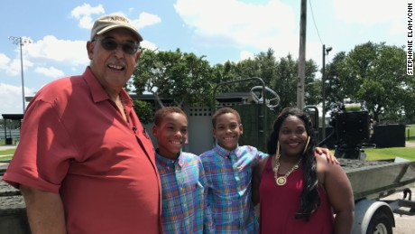 From Katrina to Harvey: Honoré reunites with twins saved 12 years ago