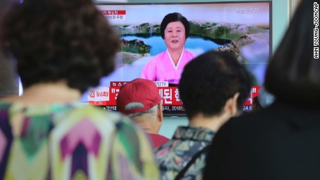 What is Kim thinking after nuke test?