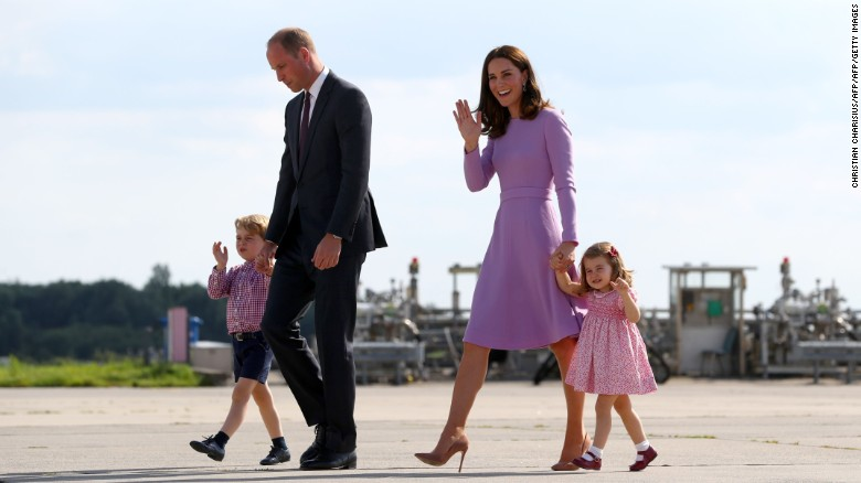 Duchess of Cambridge expecting third child