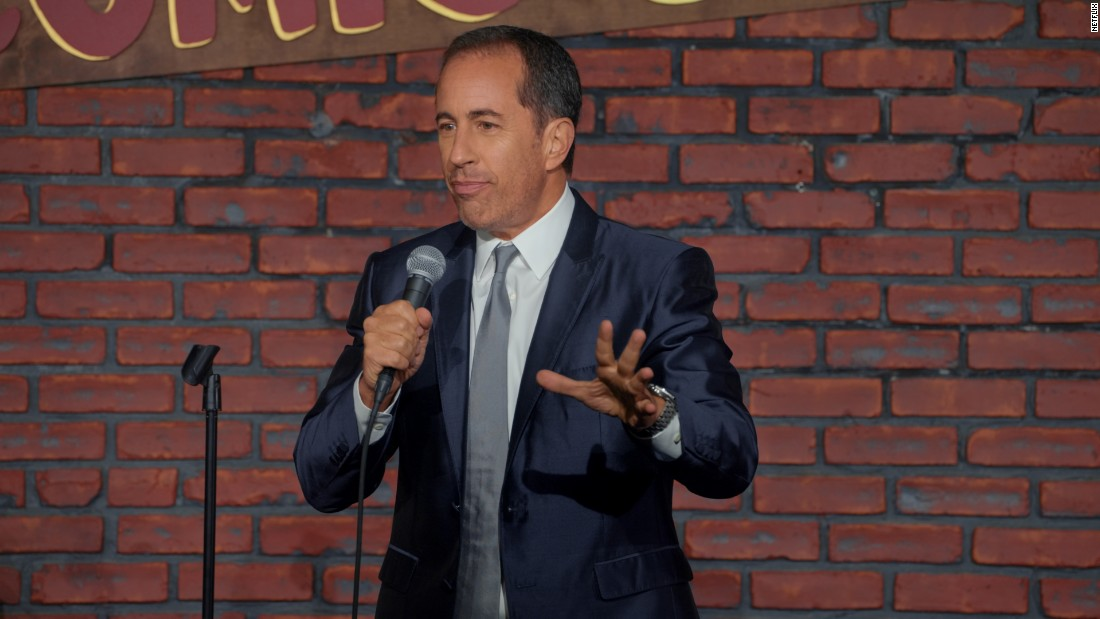 "He's back. In this hour-long comedy special, Jerry Seinfeld returns to The Comic Strip, the famed club that helped start his career, for a performance of ""jokes that put him on the comedy map,"" according to Netflix."