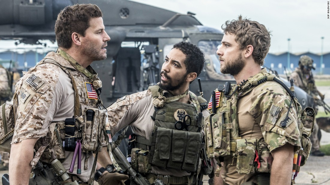 Networks enlist military shows 'SEAL Team,' 'The Brave' - CNN