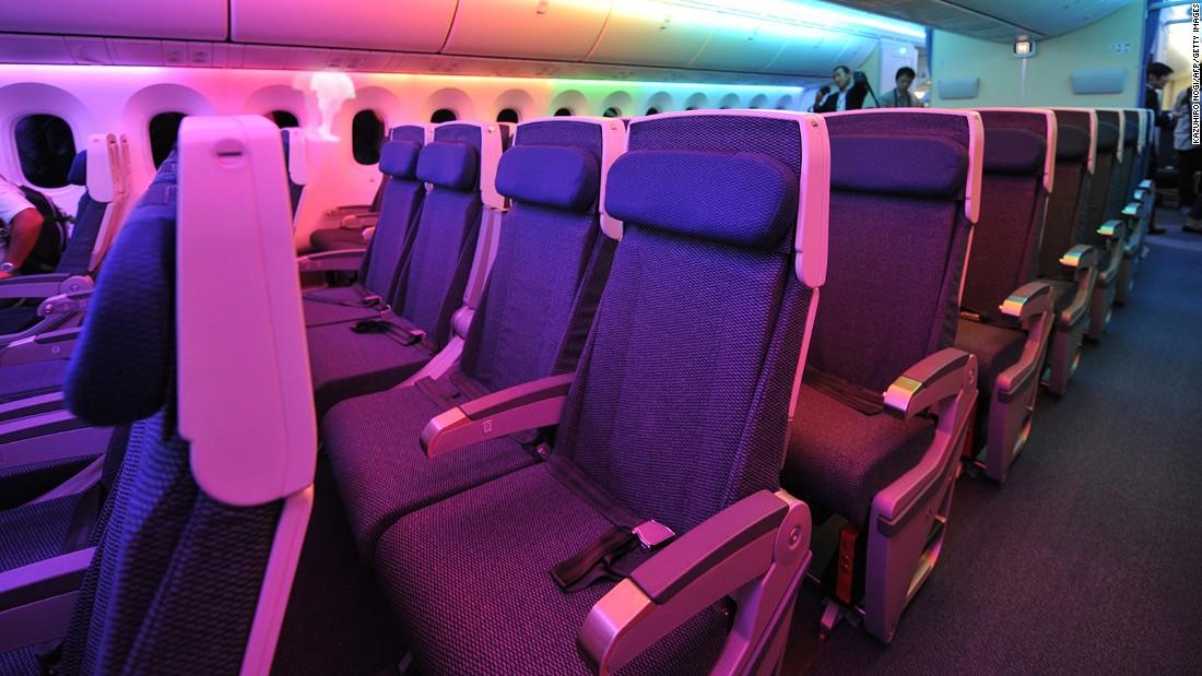 Flight attendant union calls cramped airplane seats