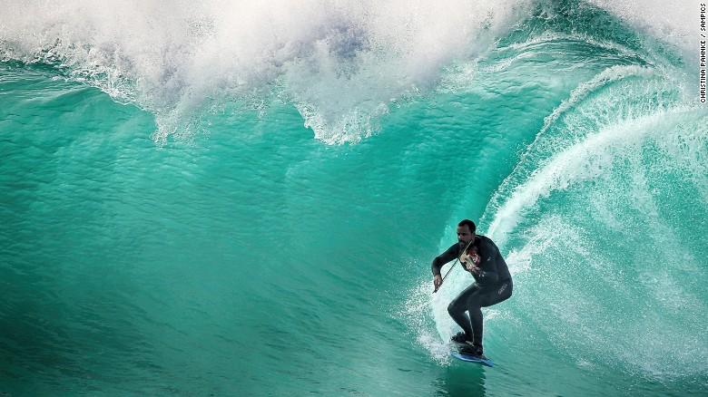 Nuno Santos The Violin Playing Surfer